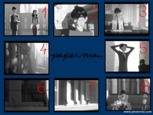 Paperman collage
