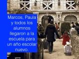 EP1 Marcos-Paula arrive2