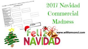2017 Navidad Commercial Madness