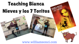Teaching Bianca Nieves y los 7 Toritos