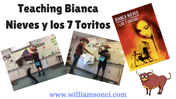 teaching bianca nieves y los 7 toritos williamson ci tprs